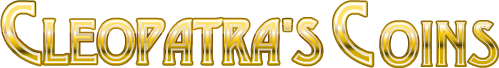 Cleopatra's Coins Online Slot Logo